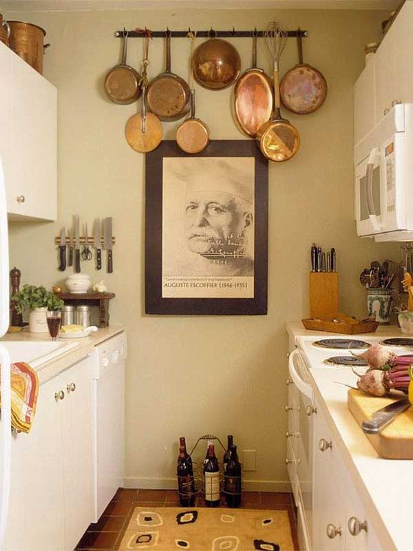 Accessorize Your Kitchen Wall