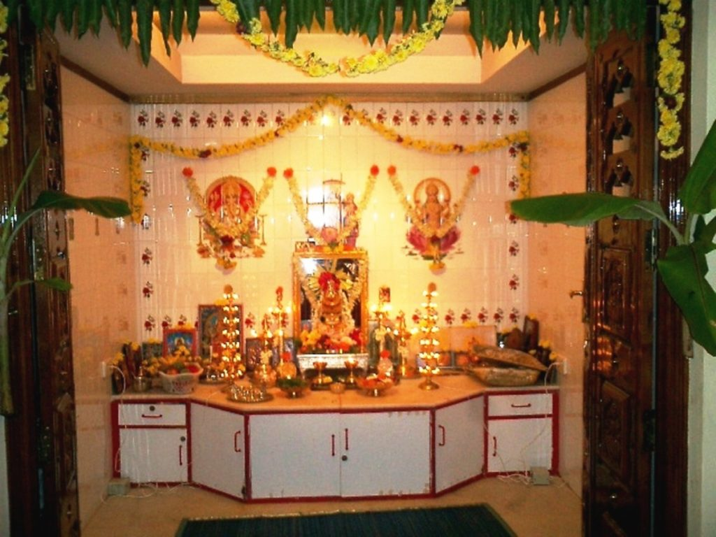Decorate your pooja room