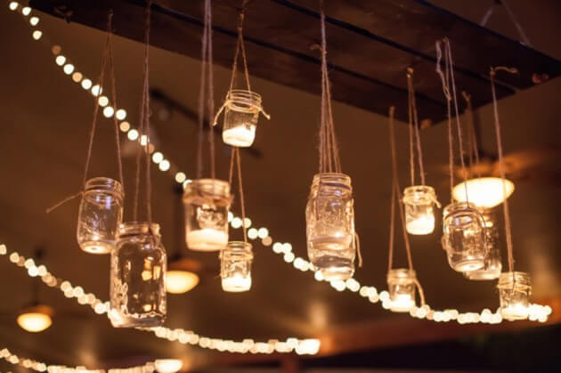 hanging mason:diwali