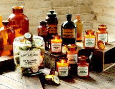 Use Paddywax Apothecary Candles