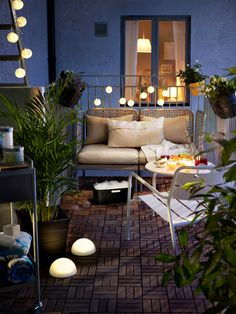 decent lighting for your home balcony