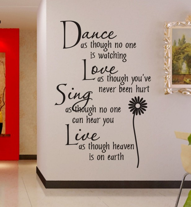 inspiration quotes on wall