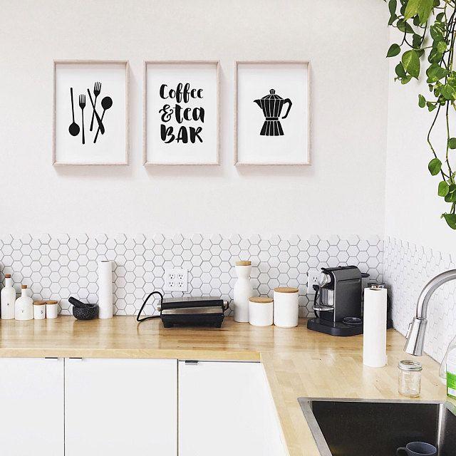 kitchen art gallery