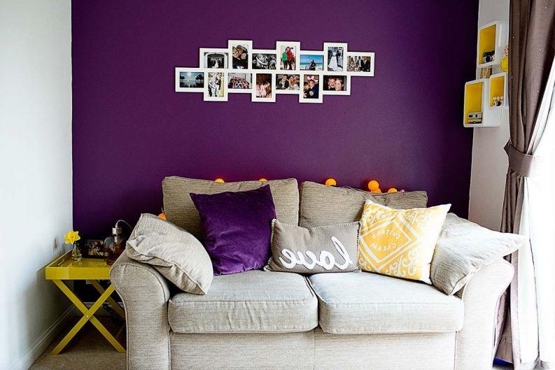 use purple paint