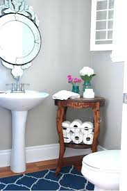 use small table in your bathroom