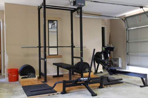 way to decor home as gym