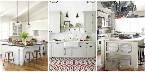 white gray paint in your kitchen