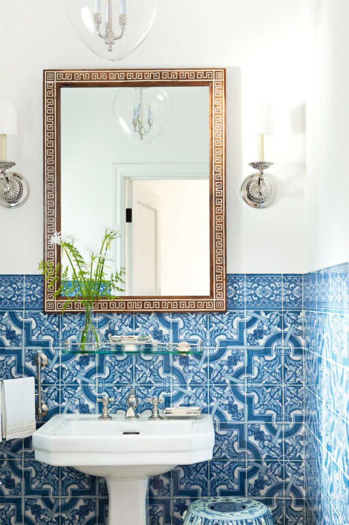 Hand-painted Portuguese tiles