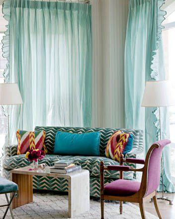 taffeta window curtains