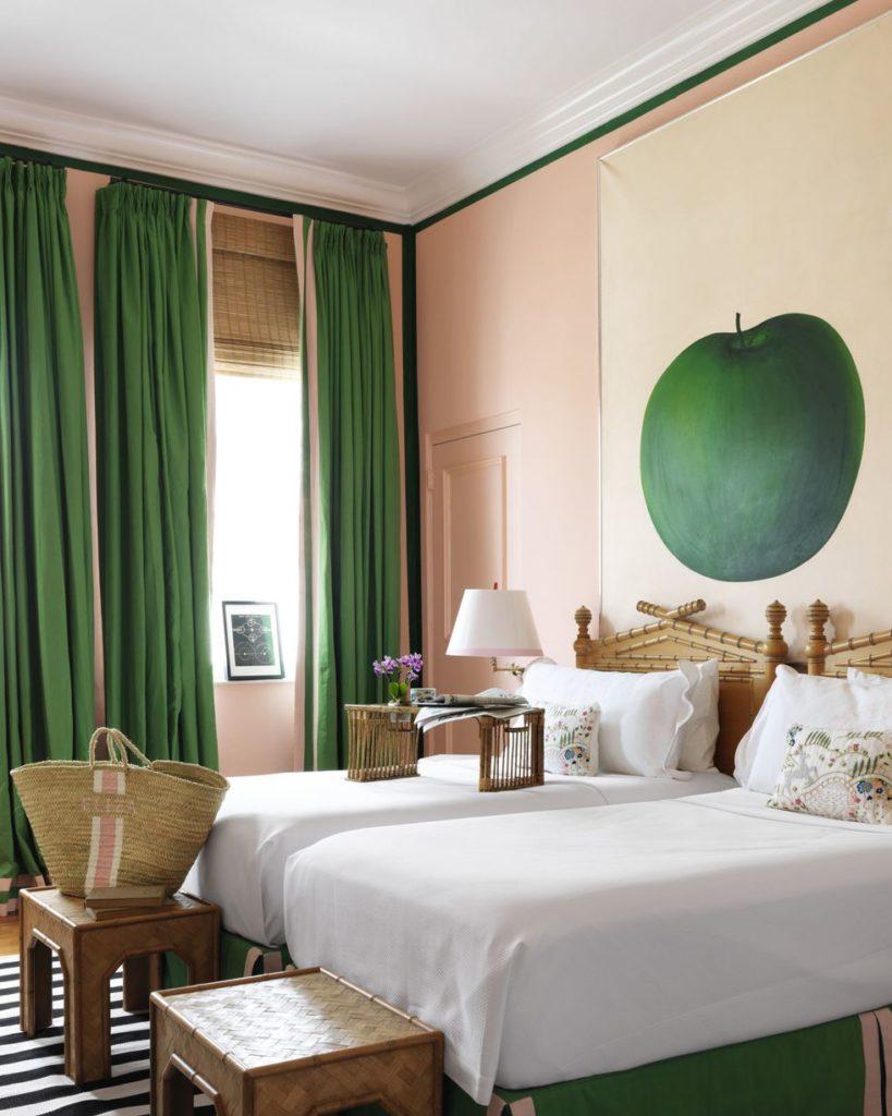 Bright Living Room Curtain Ideas