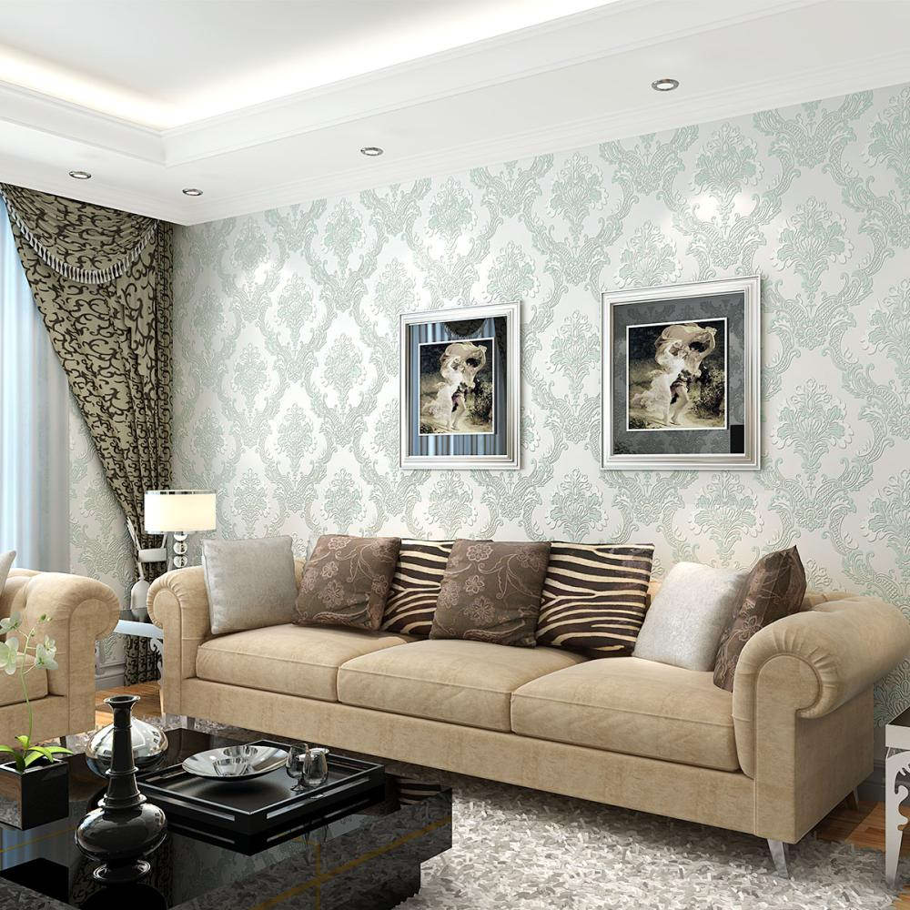 Amazing Or Any Wallpaper Can Heat Up Any Space. This Elegant Wallpaper  Designs Soft And Delicate Paper Complementsu2014not Competesu2014with The  Traditional Living ...