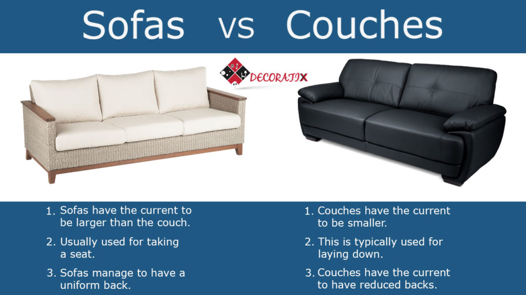 Sofa Vs Couch Davenports Which One