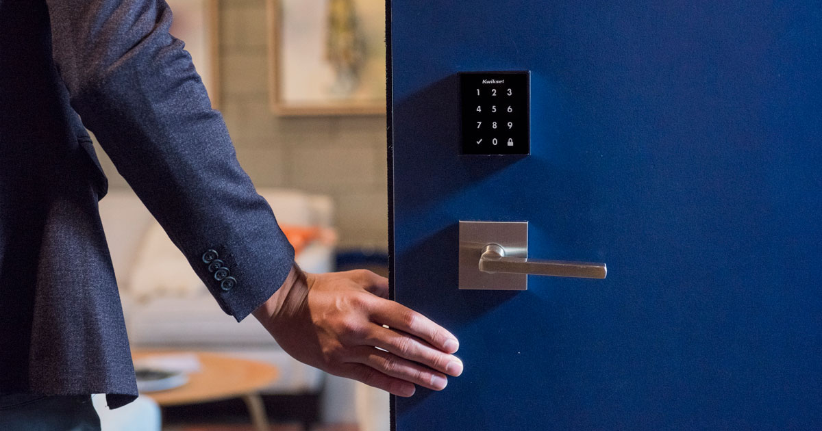 keyless entry | modern home