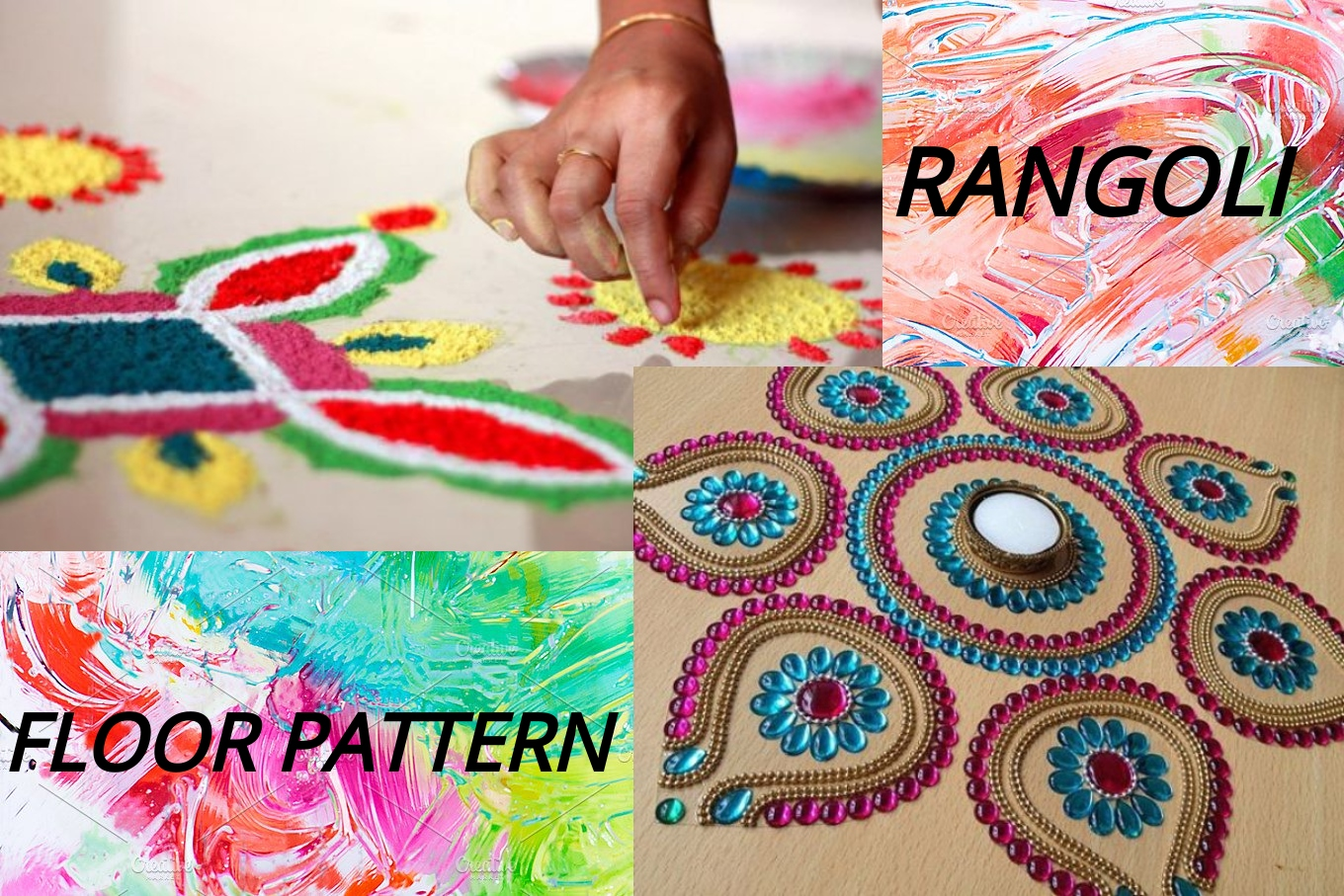 rangoli & floor pattern