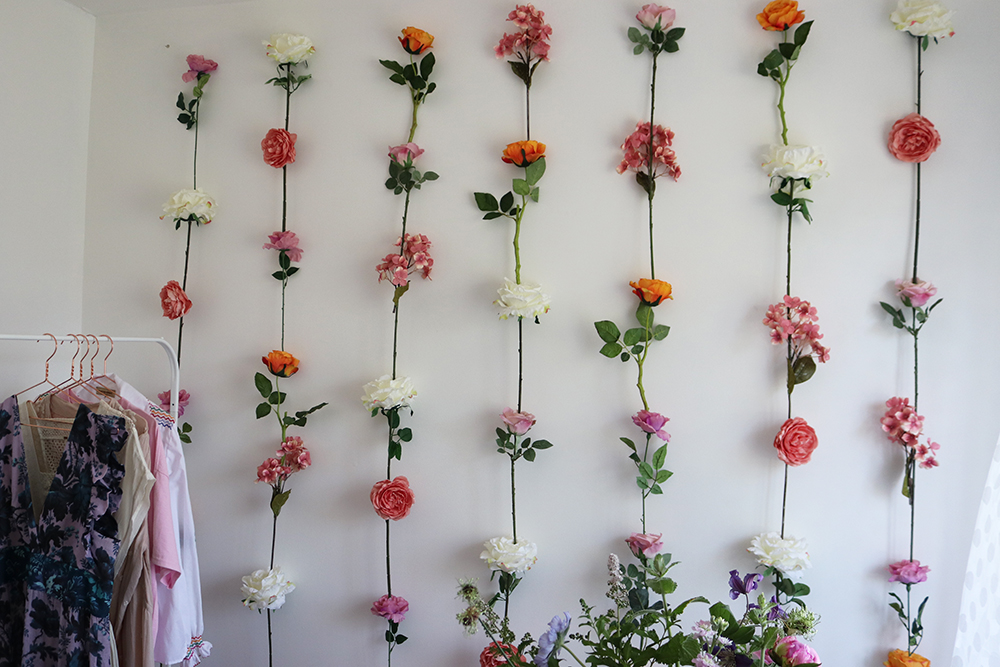 flower wall | DIY art
