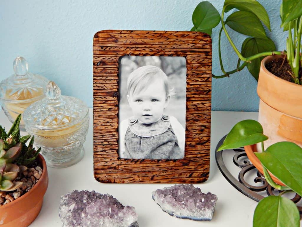 craftylittlegnome photo frame | photo frame decoration ideas