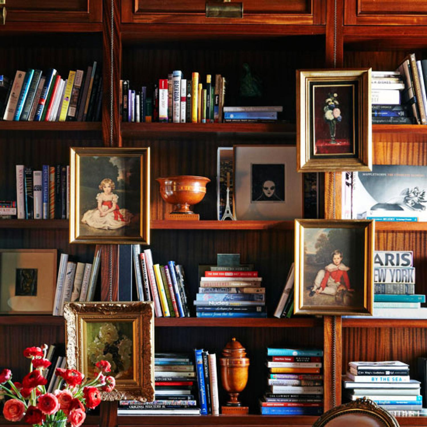 display bookcase art | home decor tips