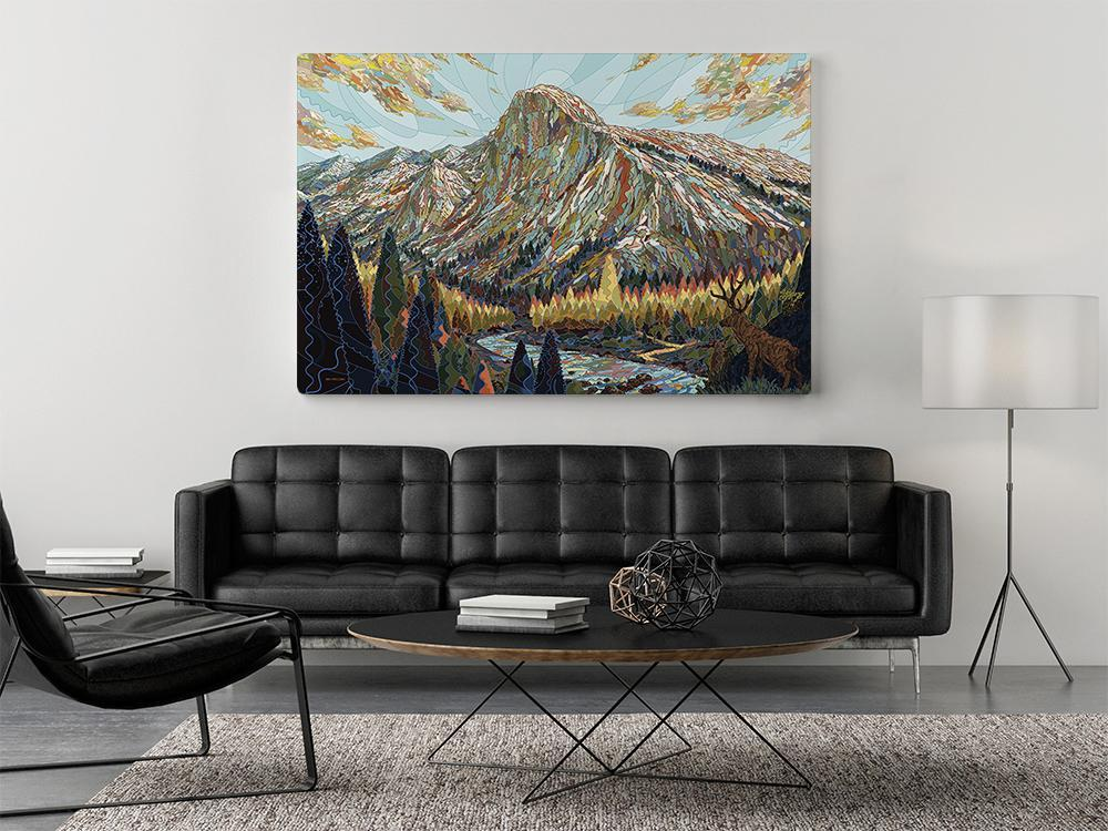 go big with your art | home decor tips
