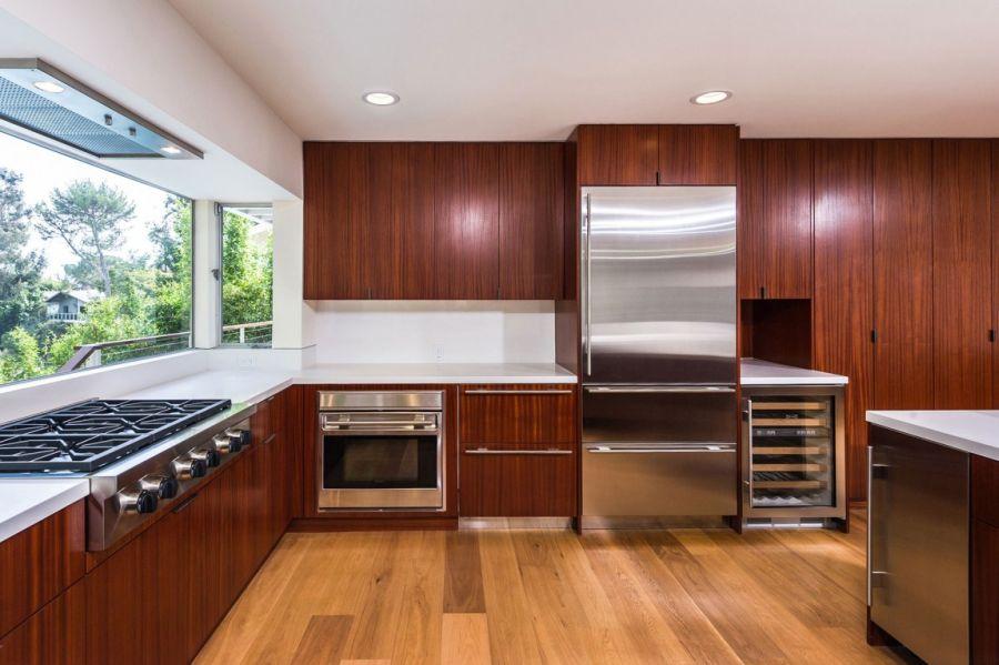 sleek wood cabinet   modern cabinet