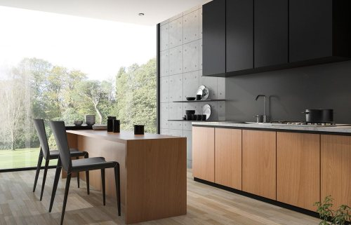 two-tone cabinet   modern cabinet