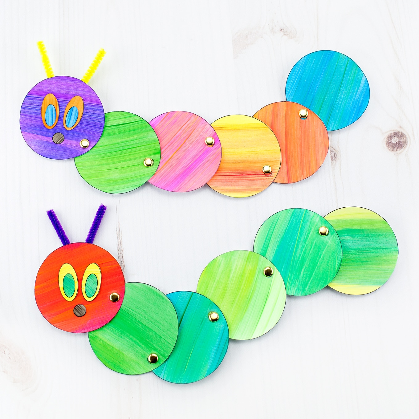 Caterpillar Suncatcher Craft