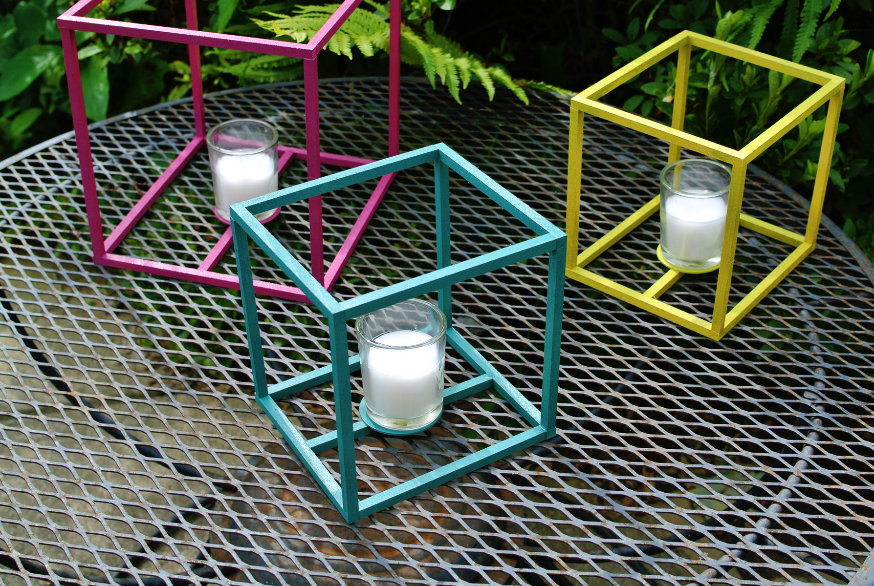 cube lanterns | easy craft ideas for the home
