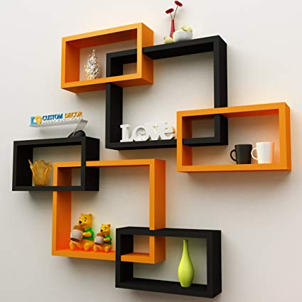 wall shelves | easy craft ideas for the home