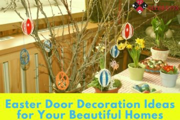 Easter Door Decoration Ideas for Your Beautiful Homes