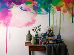 Watercolor Wall Painting