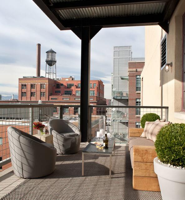 industrial:balcony design