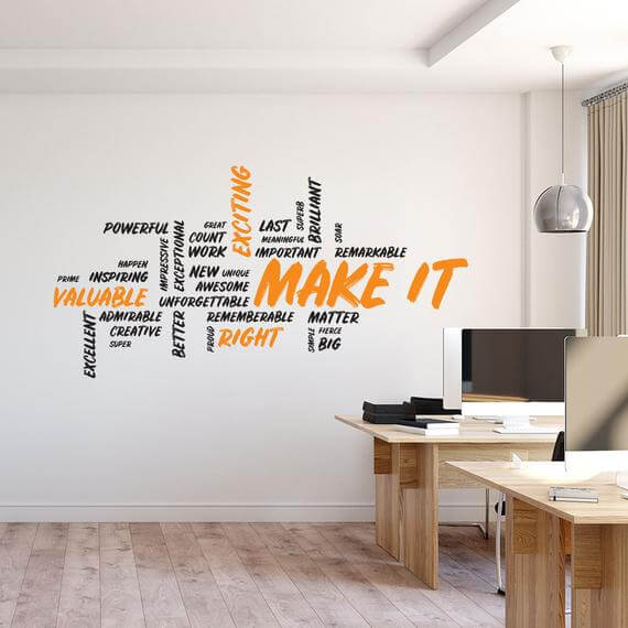 Office Decals Motivational and Inspiring