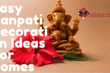 feature image:Easy Ganpati Decoration Ideas For Homes