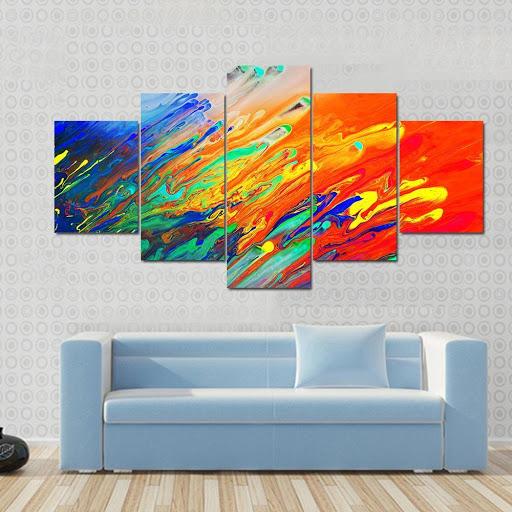 Acrylic Abstract Wall Art