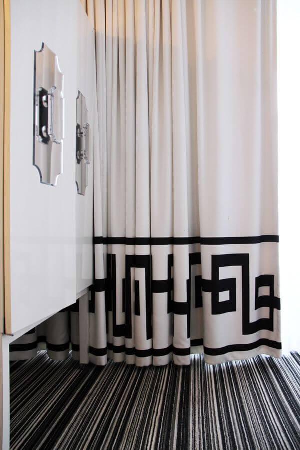 . Classic design Greek style curtain