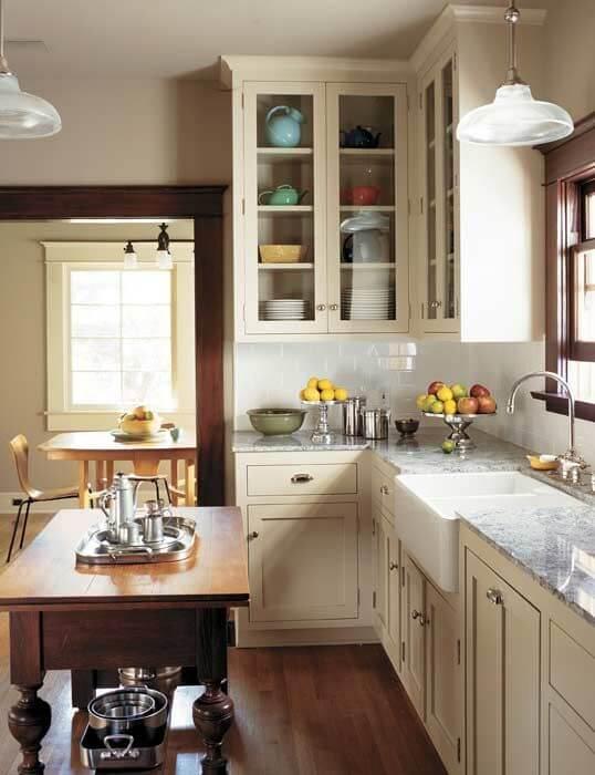 Craftsman Kitchen Cottage