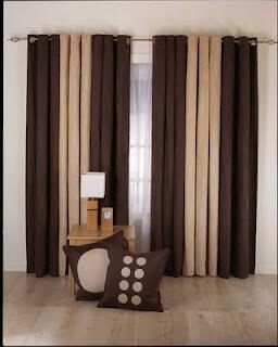 Arched windows curtain with ties:Curtains For Arched Windows
