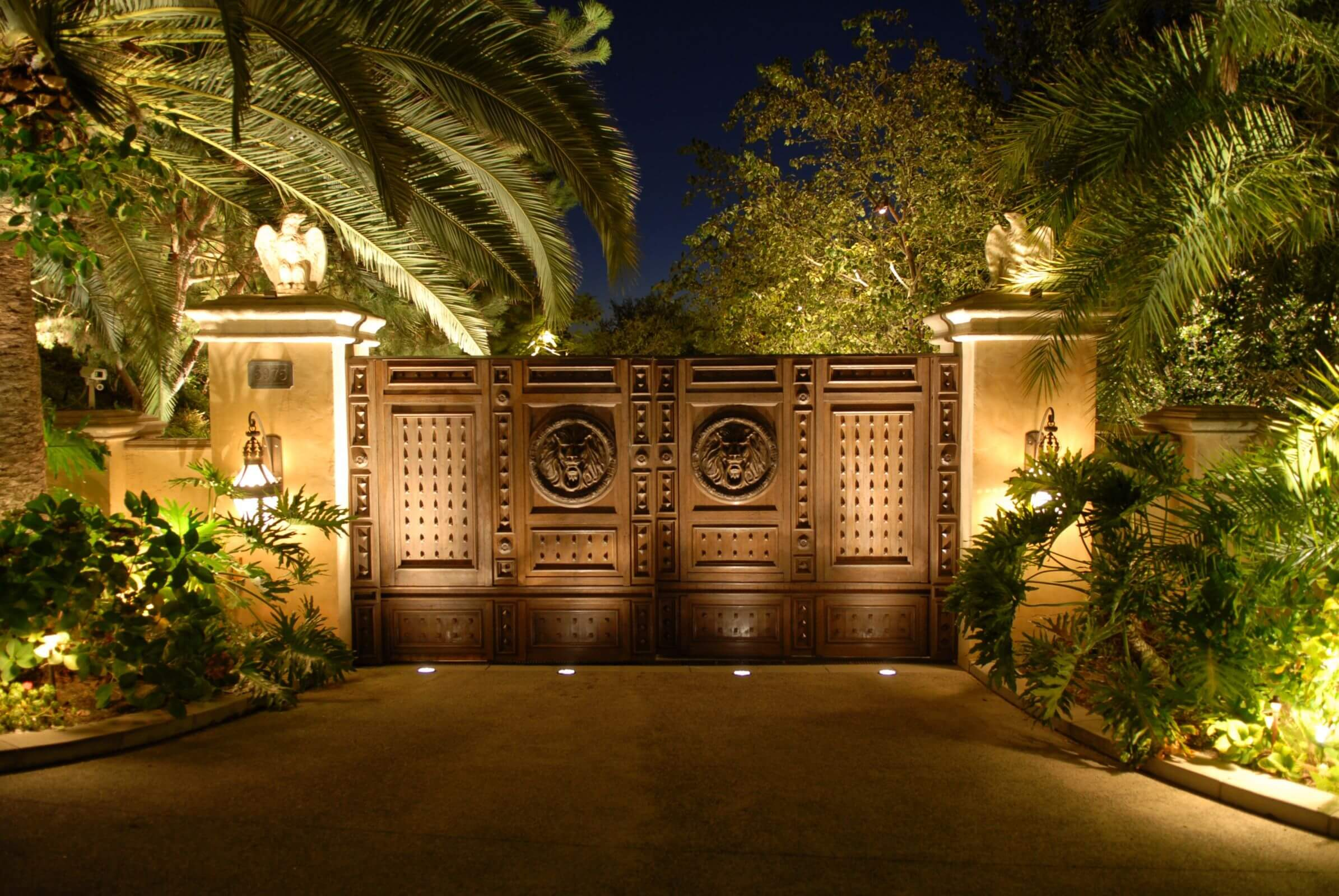 Illuminate the Entrance with an Outdoor Light