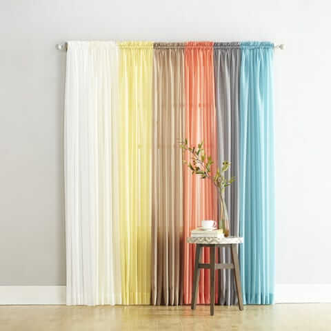 20 Best Curtains For Arched Window::Top catalog pinch pleated drapes