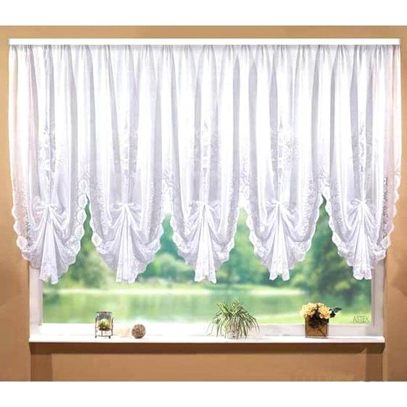 Small Sheer Curtain for Kitchen
