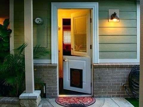 Install a Dutch Door