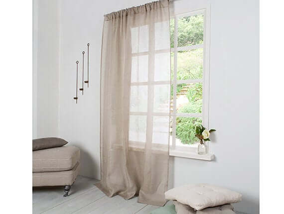 Natural panel Curtain