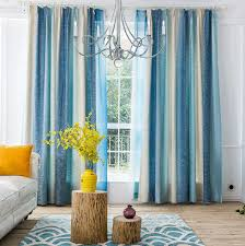 Striped Curtains for Guest Room