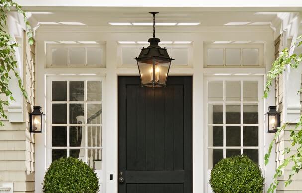 Classic Porch Fixture front door decoration