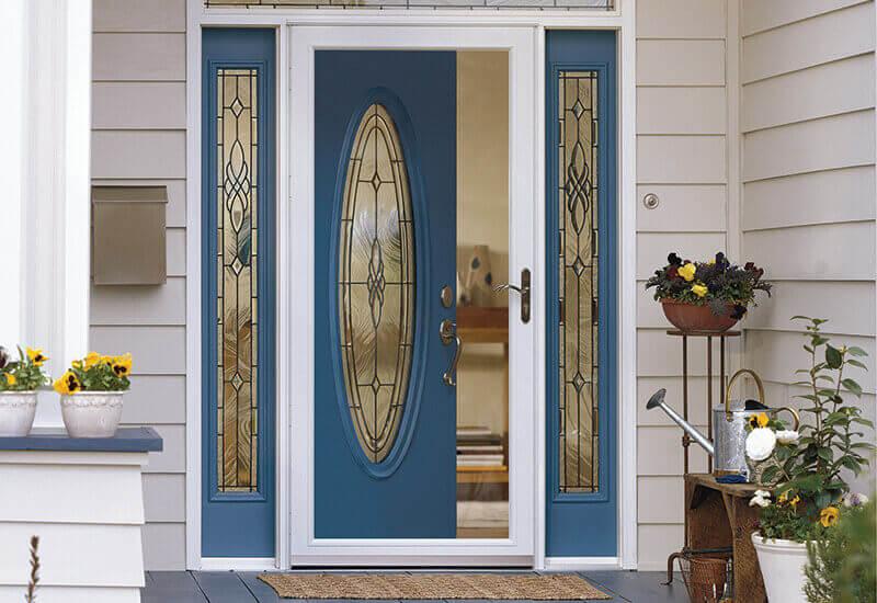Customize a Standard Glass Door