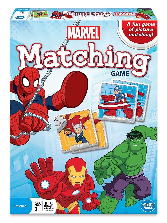 Superhero Matching games
