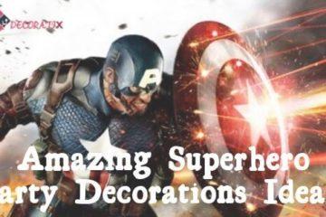 Amazing Superhero Party Decorations Ideas