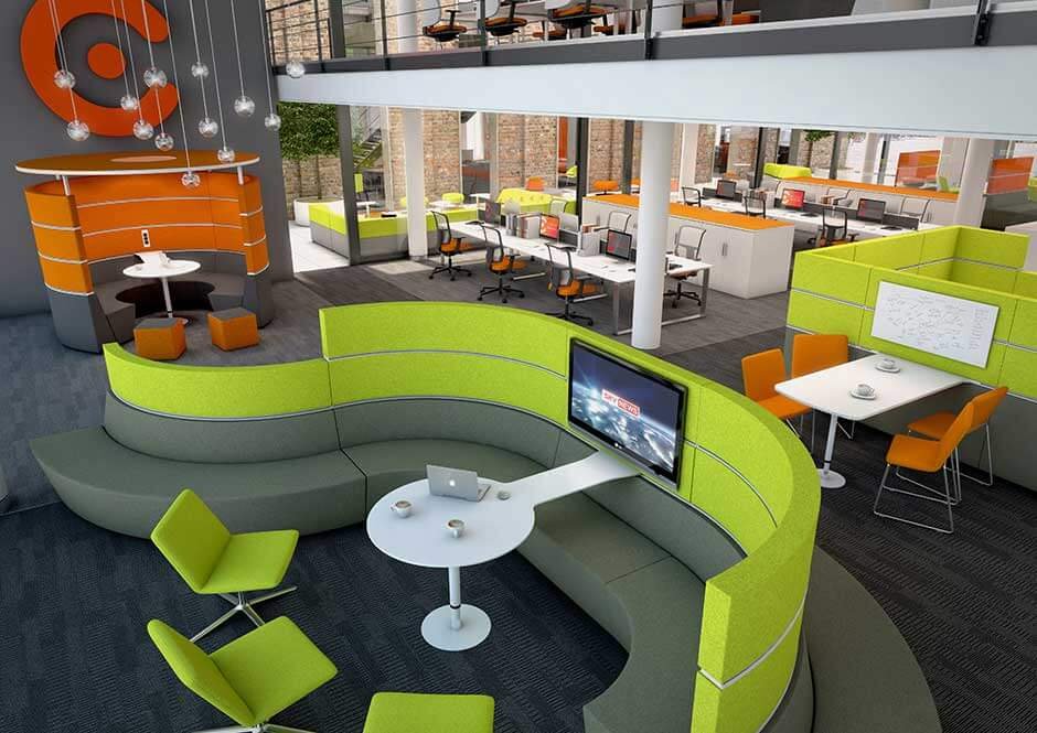 Flexible office spaces