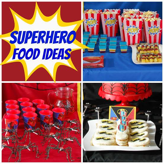 Super hero food idea