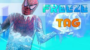Superhero Freeze Tag