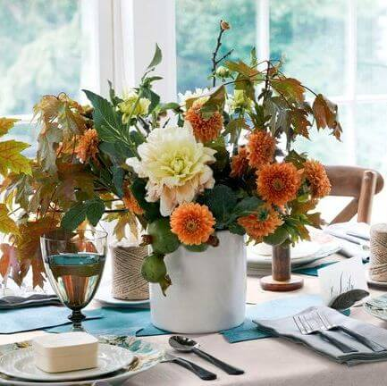 Add Seasonal Centerpieces